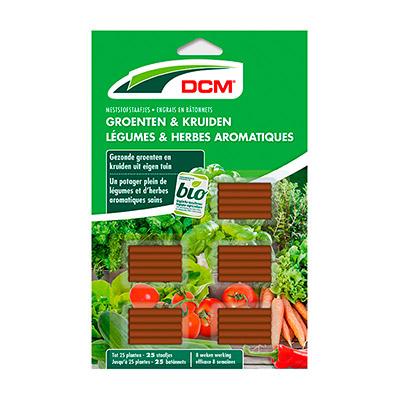 DCM Meststofstaafjes Groenten & Kruiden