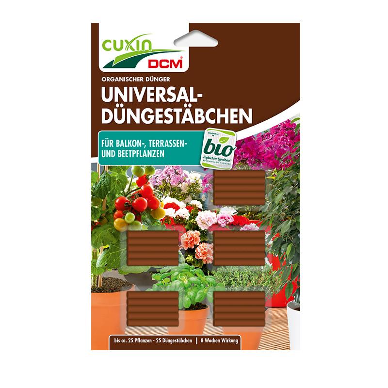 CUXIN DCM Universal-Düngestäbchen für Balkon-, Terrassen- und Beetpflanzen