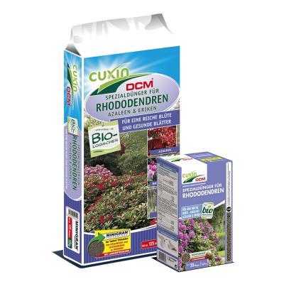 CUXIN DCM Spezialdünger für Rhododendren, Azaleen, Eriken