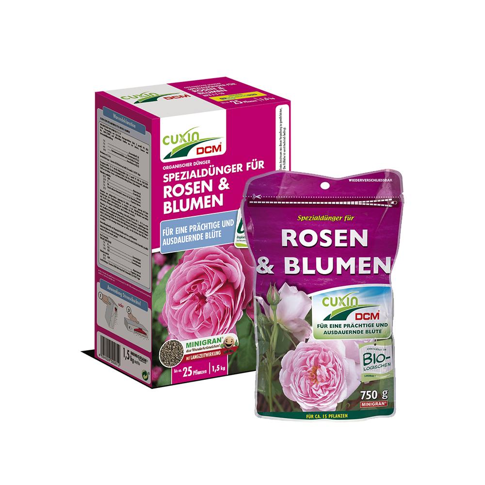CUXIN DCM Spezialdünger für Rosen