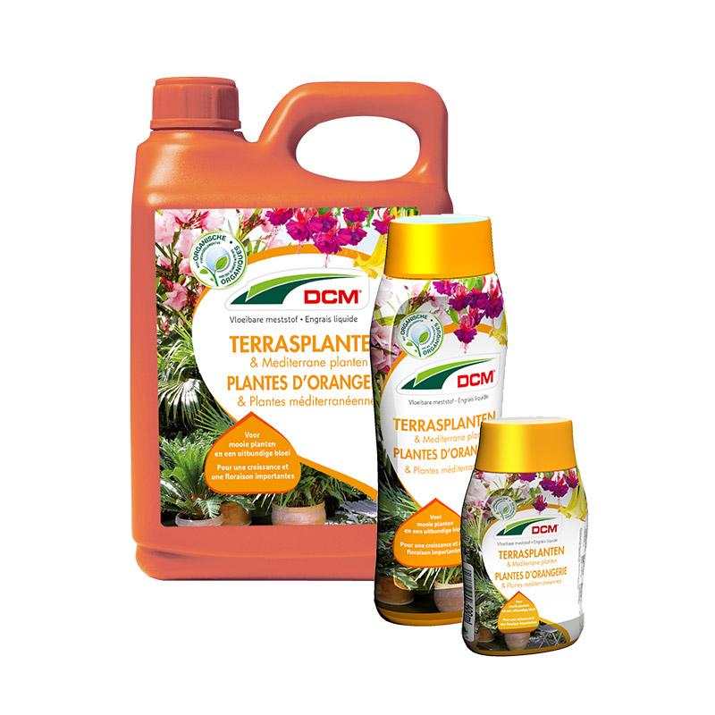 Dcm vloeibare meststof terrasplanten mediterrane planten dcm - Zoals mediterrane ...