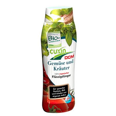 CUXIN DCM Flüssigdünger Gemüse und Kräuter