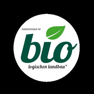 Anwendbar im biologischen Landbau