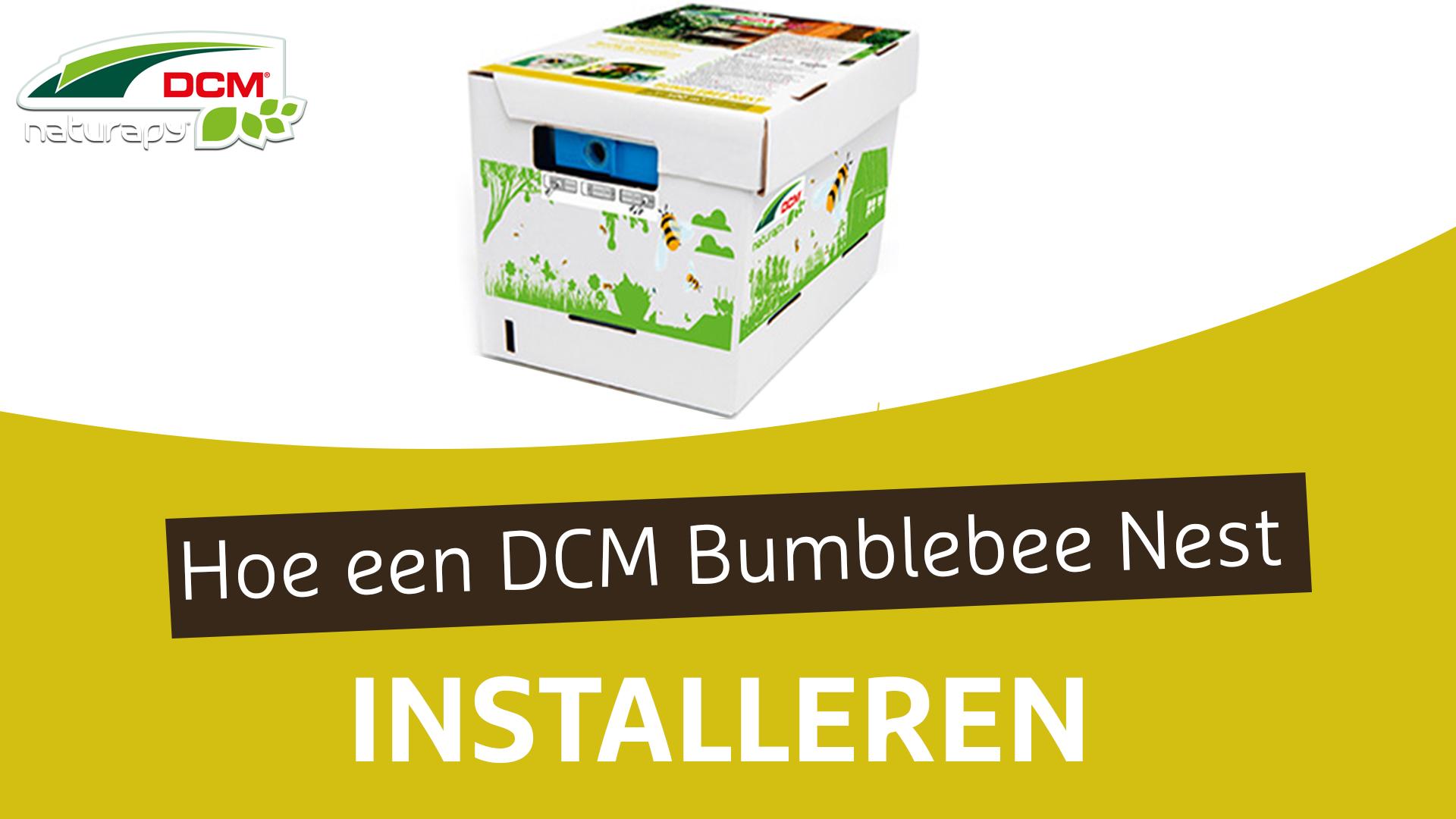 Hoe een hommelnest installeren? - DCM Bumblebee Nest