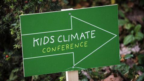 DCM ondersteunt Kids Climate Conference 2017