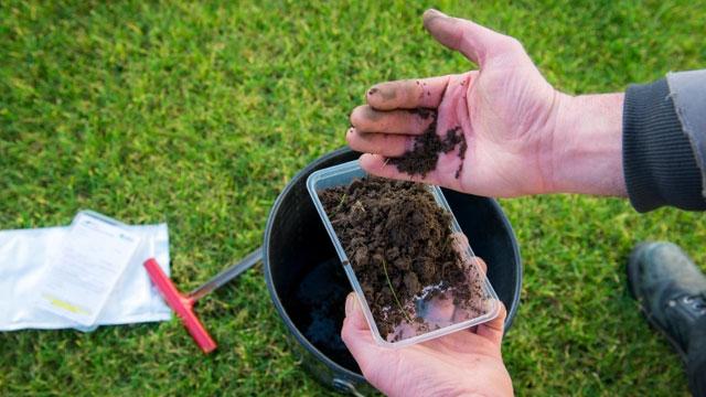 Une analyse du sol professionnelle pour une fertilisation optimale!