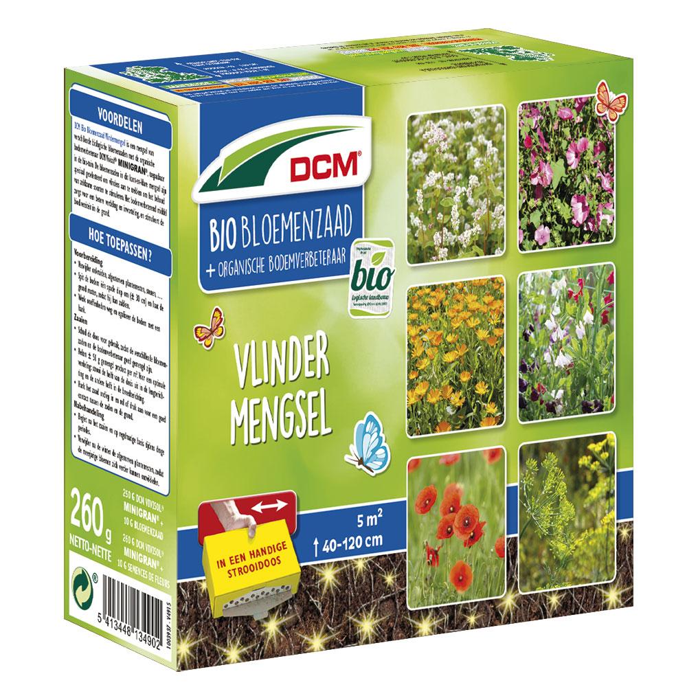 DCM Bloemenmengsel Vlinders BIO