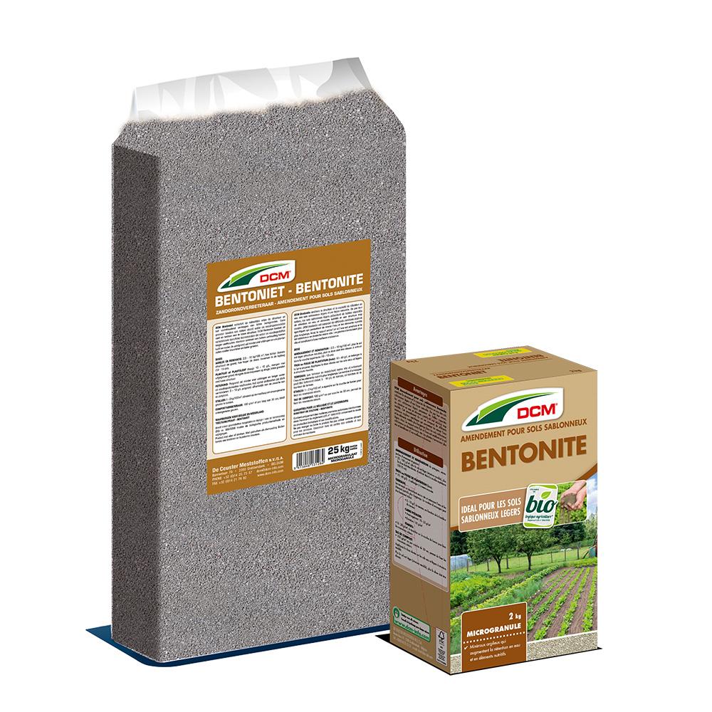 Amendement pour Sols sablonneux Bentonite DCM