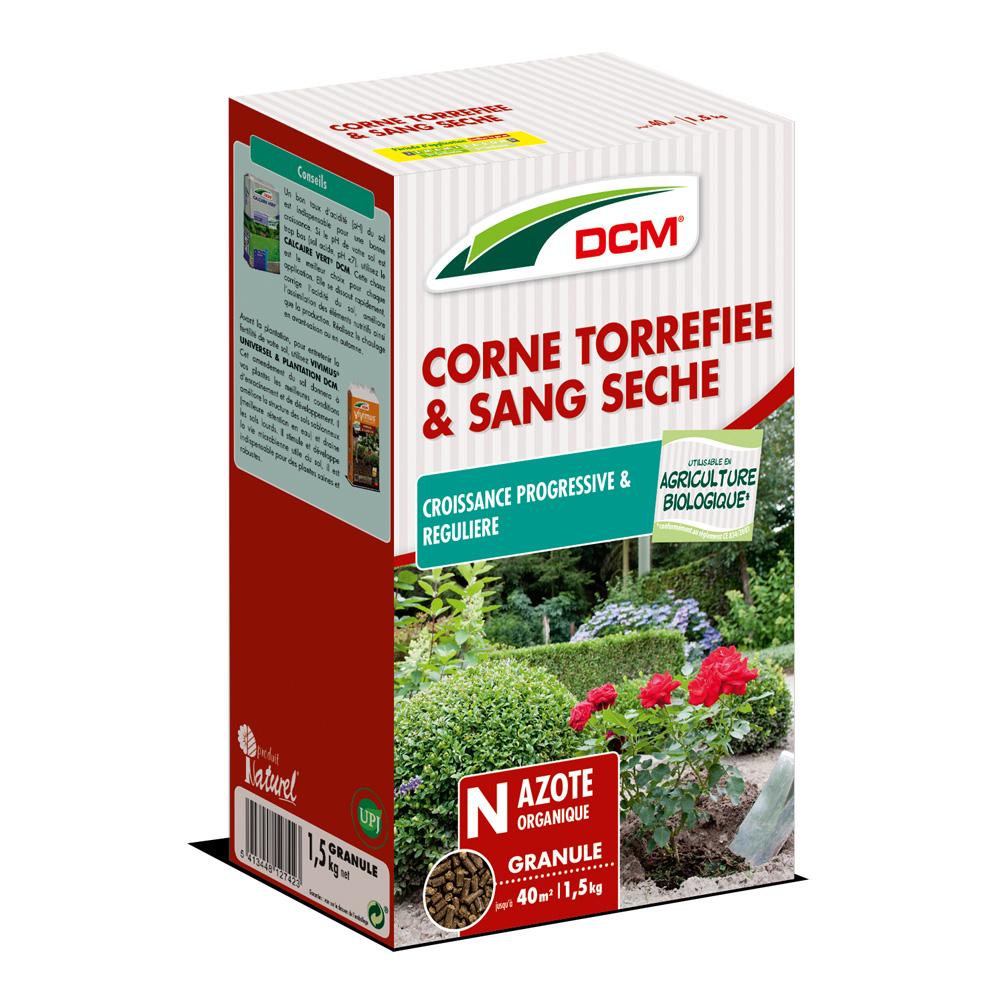 Corne torréfiée et Sang séché DCM