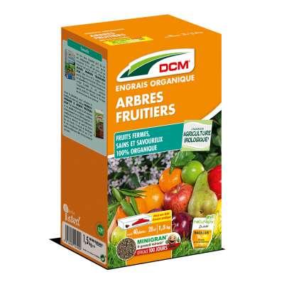 Engrais Arbres fruitiers DCM