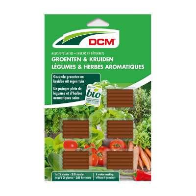 Engrais en bâtonnets Légumes & Herbes aromatiques DCM