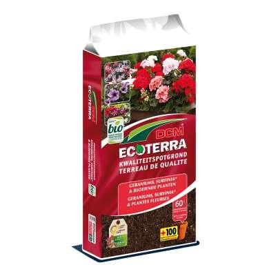 DCM Ecoterra® Geraniums & Plantes fleuries