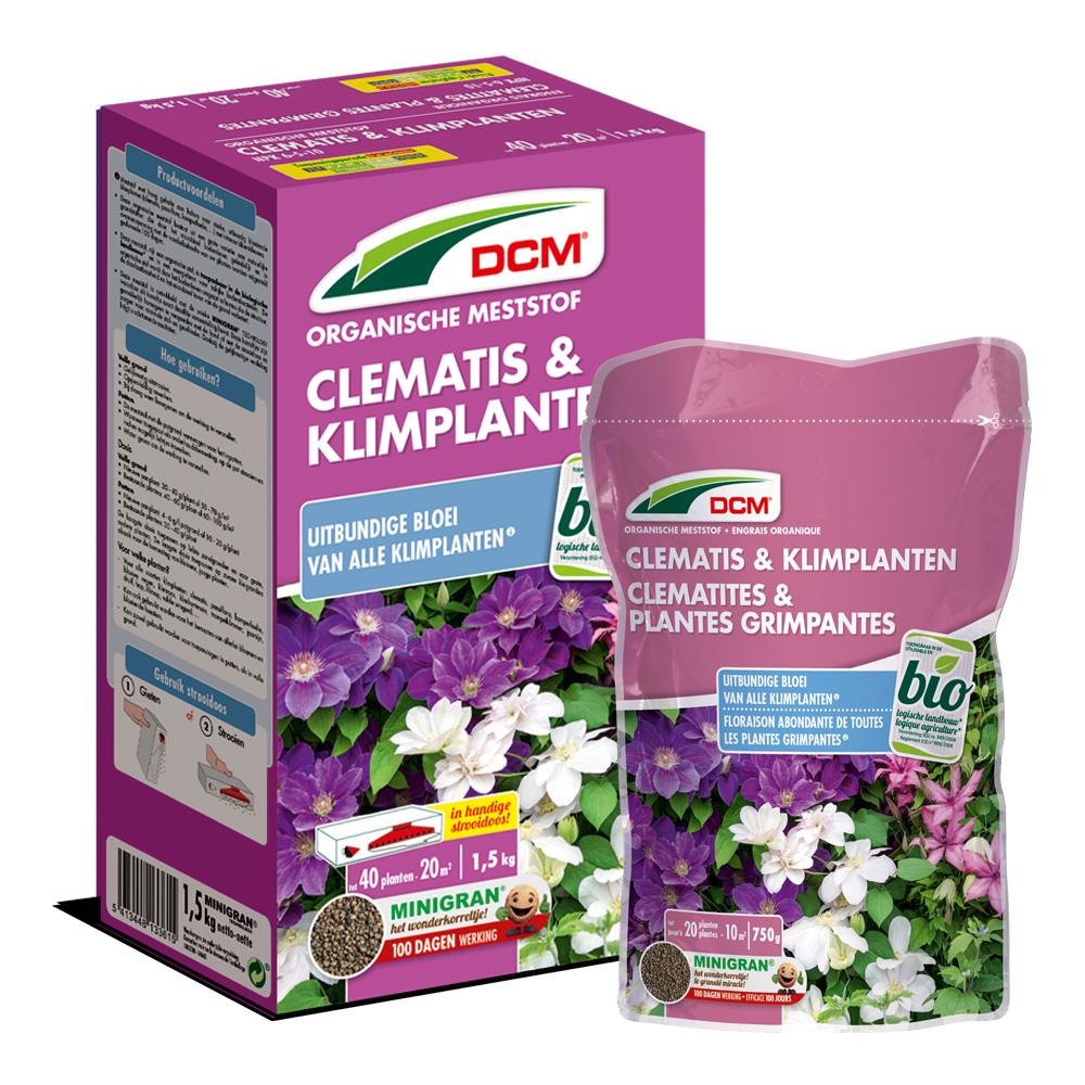 DCM Meststof Clematis & Klimplanten