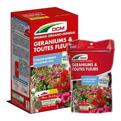 Engrais Géraniums & toutes Fleurs DCM