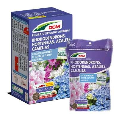 Engrais Rhodo-Hortensia-Azalées-Camélias DCM