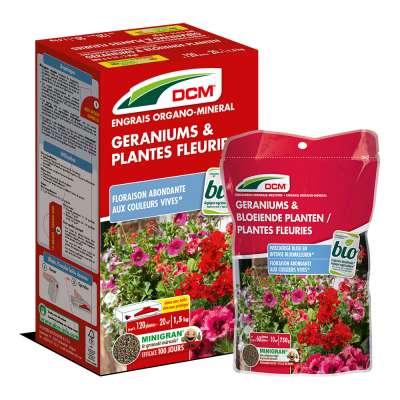 Engrais Géraniums & Plantes fleuries DCM