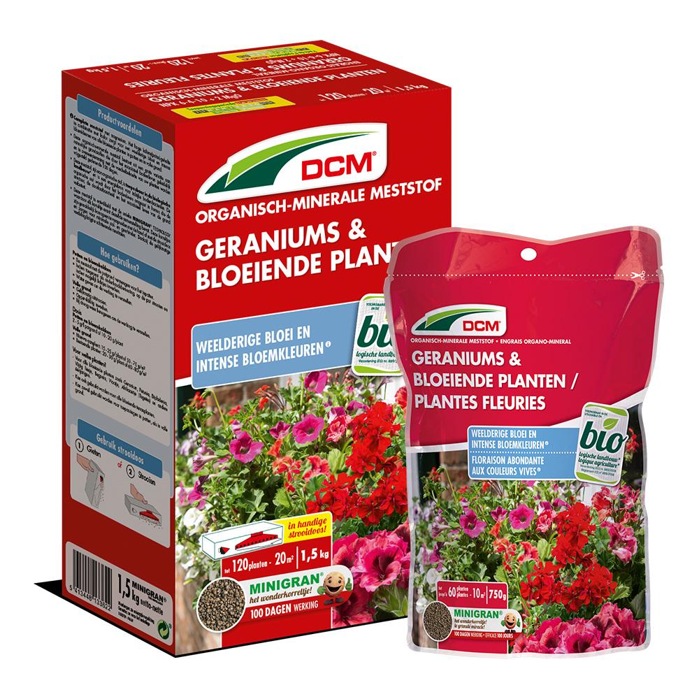 DCM Meststof Geraniums & Bloeiende Planten