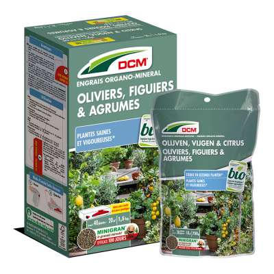 Engrais Oliviers, Figuiers & Argumes DCM