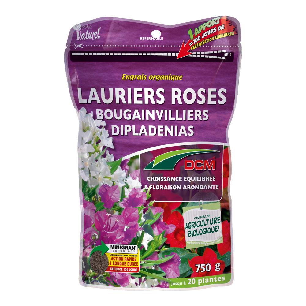 engrais lauriers roses, bougainvilliers & dipladénias dcm - dcm