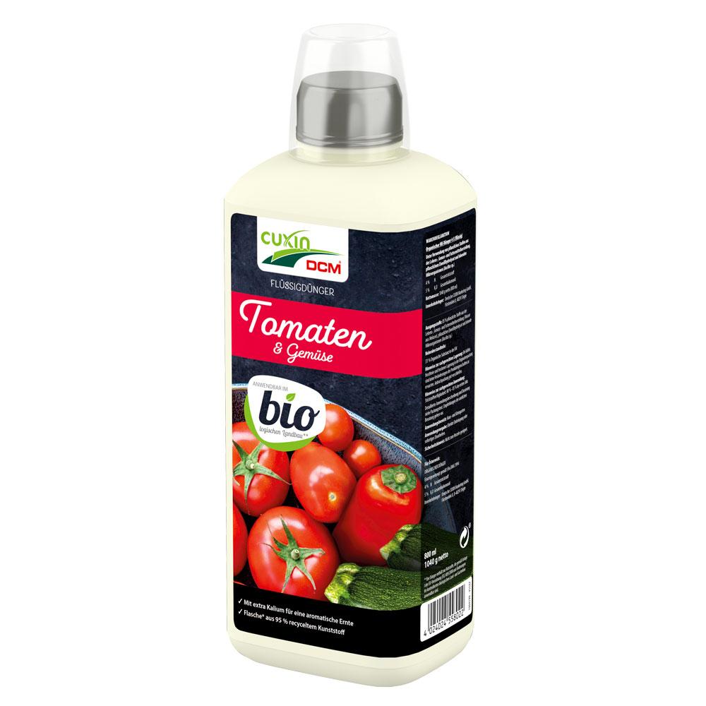 CUXIN DCM Flüssigdünger Tomaten & Gemüse Bio