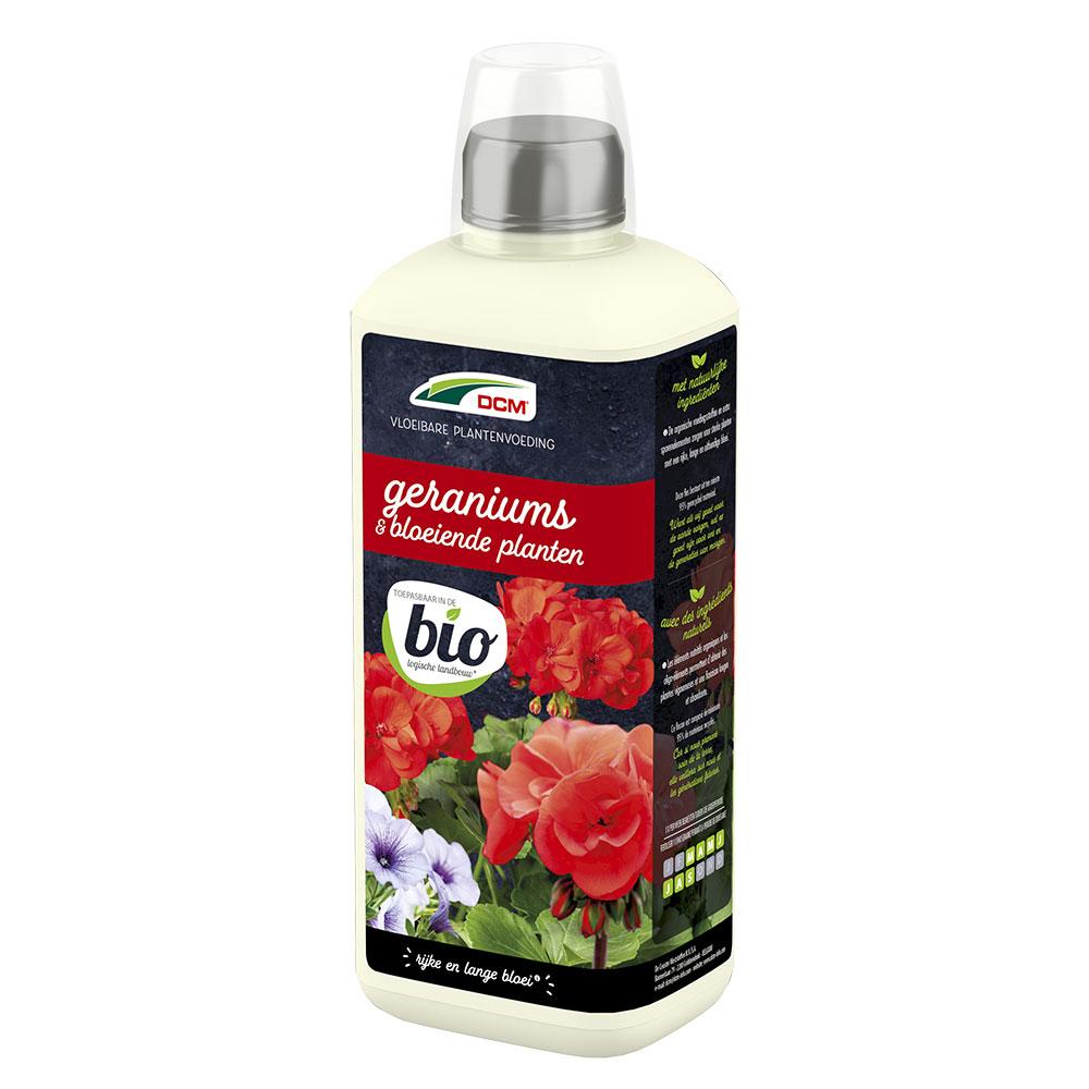 DCM Vloeibare Meststof Geraniums & Bloeiende Planten