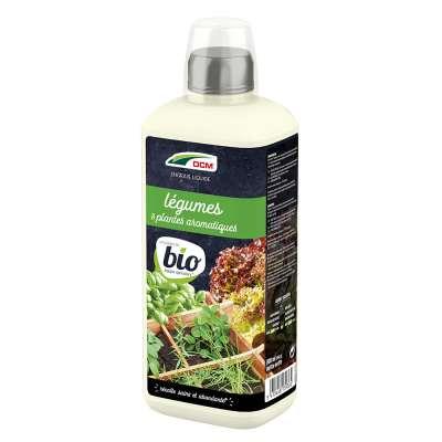Engrais Liquide Légumes & Plantes Aromatiques DCM