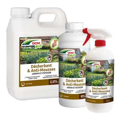 DCM Desherbant & Anti-mousses - Jardin et potager